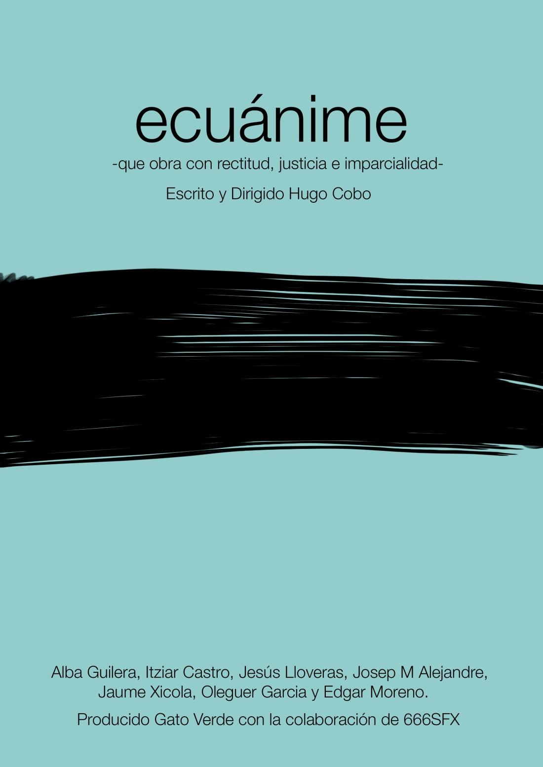 poster ecuánime