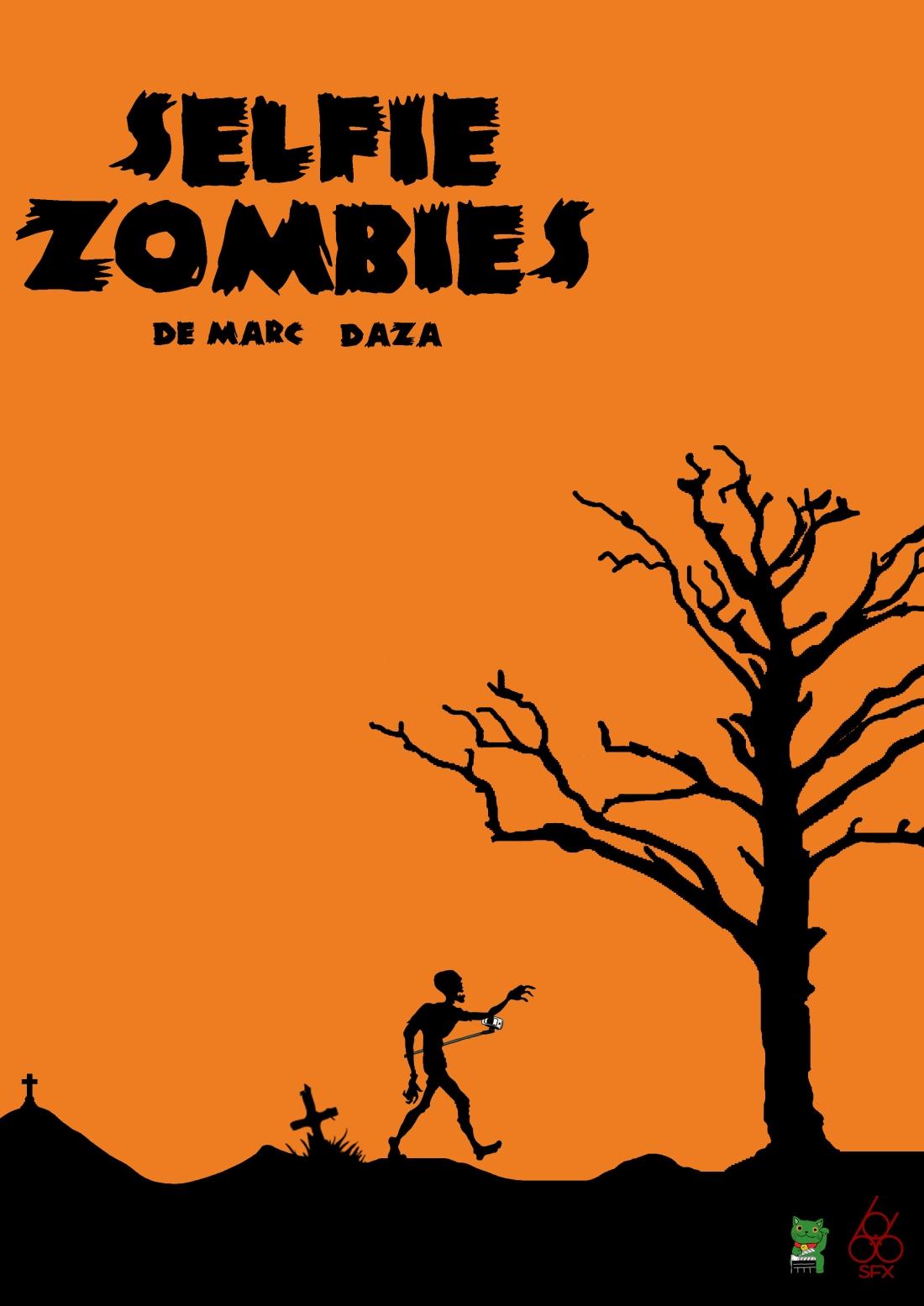selfie zombies poster